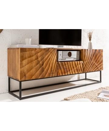 Masywna szafka RTV w stylu loftowym