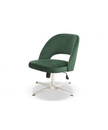 Eleganckie krzesło biurowe tapicerowane