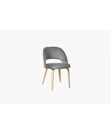 Eleganckie krzesło dębowe do jadalni