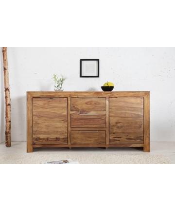 Masywna komoda z litego drewna 135
