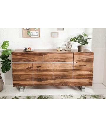 Duża drewniana komoda do salonu