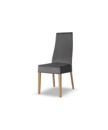 Modne szare krzesło do restauracji