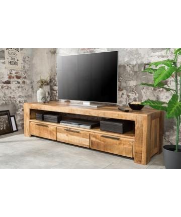 Masywna drewniana szafka RTV 170