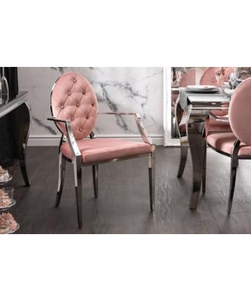 Krzesło barokowe z podłokietnikami