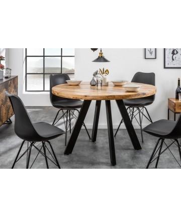 Stół okrągły Multi z litego drewna