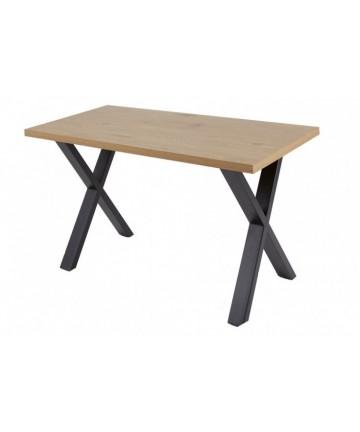 Dębowe biurko w stylu loftowym