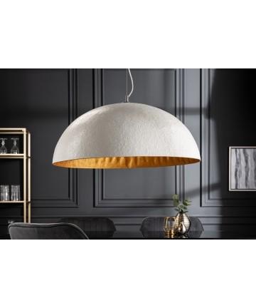 Lampa wisząca Unique biało złota 70