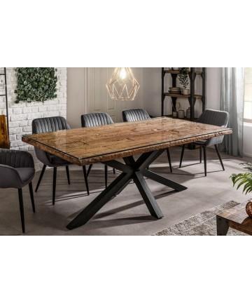 Nowoczesny drewniany stół do jadalni