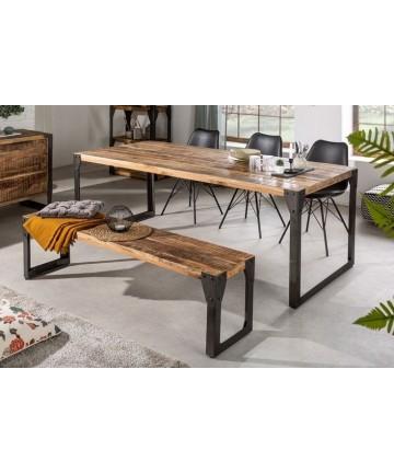 Industrialny stół do jadalni 160