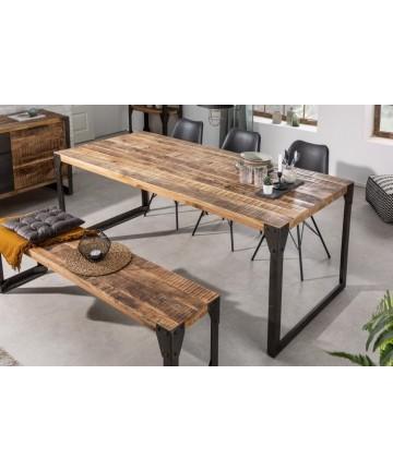 Duży industrialny stół długość 200