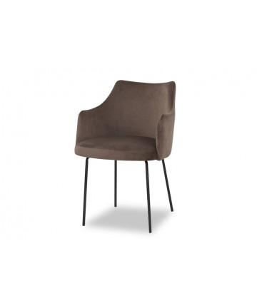 Eleganckie krzesło z podłokietnikami