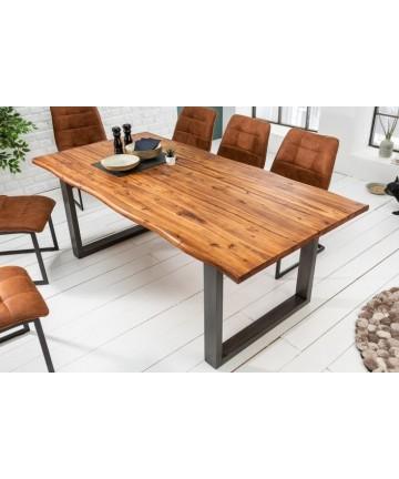 Industrialny stół do jadalni 140