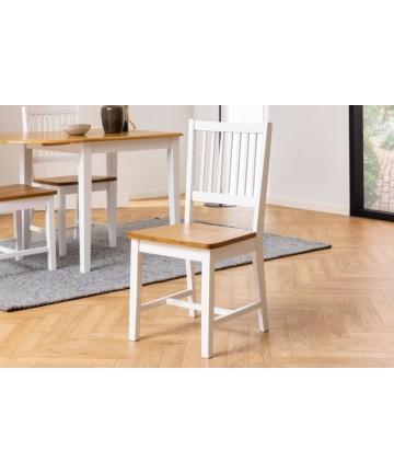 Krzesło Bris Białe klasyczne