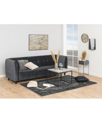 Sofa rozkładana Joda Velvet ciemnoszara